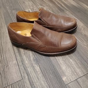 Sandro Moscoloni Leather Nelson Loafer